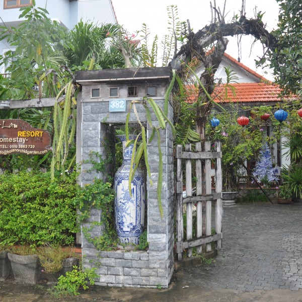 Entrance Orchid Garden Homestay