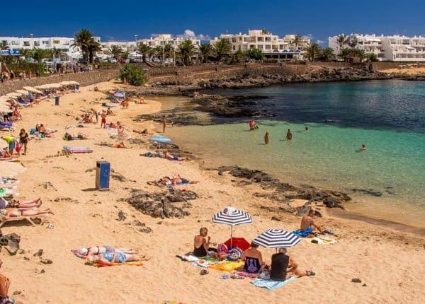 beach on Lanzarote