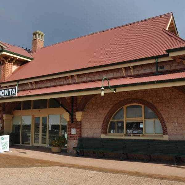 The Old Moonta Railway Station